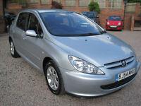 2004 54 Peugeot 307 1.6 16v S Silver Metallic
