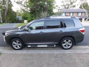 2013 Toyota Kluger KX-S Auto AWD 7 Seater SUV Wagon Cherrybrook Hornsby Area Preview