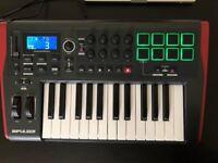 Novation 25 MIDI controller