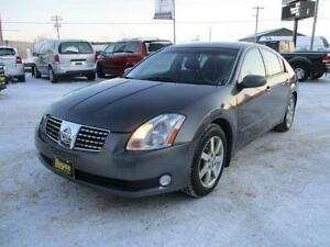 2006 NISSAN MAXIMA SL, LEATHER, SUNROOF, SAFETY&WARRANTY  $6,450
