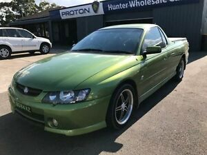 2003 Holden Ute VY SS Hot House Green Automatic Utility Sandgate Newcastle Area Preview