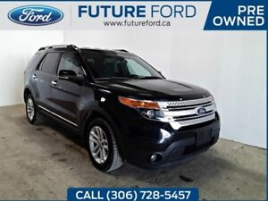 2011 Ford Explorer XLT|AWD|BLACK ON BLACK|LOCAL TRADE|PRICED TO