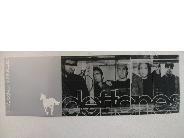 Deftones Pop Out Promo Poster and sticker The 2 sided