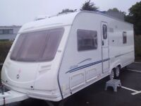 Sterling Elite Searcher TWIN AXLE, FIXED BED 4 Berth 2006