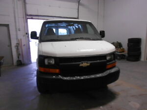 2007 Chevrolet Express 3500 Cargo Van; CERTIFIED & E-TESTED