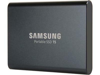 "SAMSUNG T5 1TB 2.5"" USB 3.1 V-NAND Portable SSD MU-PA1T0B/AM"