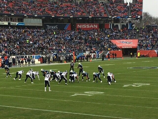 2 Indianapolis Colts Tennessee Titans Lower Level Section 120 9th Row 9/26/21 - $375.00