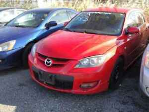 2007 MAZDA 3 SPEED. JUST IN FOR PARTS AT PIC N SAVE! WELLAND