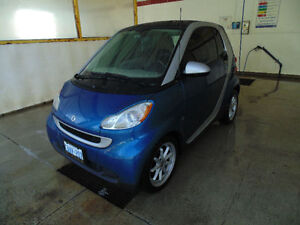 2009 Smart Fortwo Passion Coupe + Snow Plow & Push Bar!