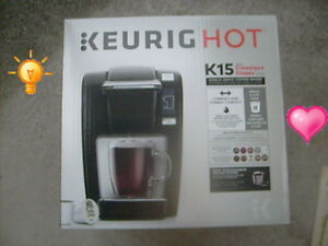 Hot Buy: Keurig K15 Hot Brewing System, Black- $70 (Van., BC)