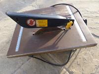 600 watt Titan wet/dry electric tile cutter
