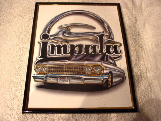 IMPALA 8X10 FRAMED PICTURE
