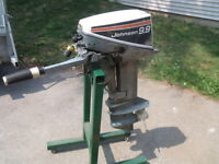 9.9 Johnson Outboard Motor.ELECTRIC START!