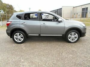 2013 Nissan Dualis J10W Series 4 MY13 TS Hatch 2WD Grey 6 Speed Manual Hatchback Underwood Logan Area Preview