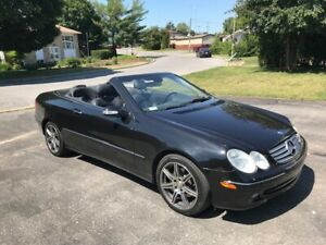 mercedes convertible clk 320 2004