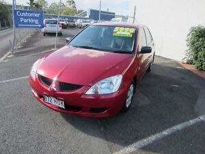 2003 Mitsubishi Lancer CH LS Red 4 Speed Automatic Sedan Buderim Maroochydore Area Preview