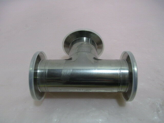 MKS 100314606, TEE NW50, SST, TUMBLE, 3-Way, Vacuum Pipe. 416804