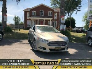 2016 Ford Fusion Titanium|AWD|Htd&AClthrSts|Sroof|Backup|Alloys|