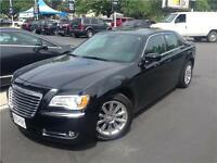 2013 Chrysler 300 black on black
