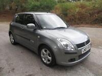 2007 07 SUZUKI SWIFT 1.5 GLX VVTS 5D AUTO 101 BHP