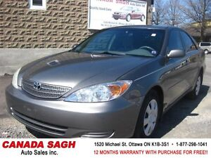 2004 Toyota Camry LE ((MINT)) 156km !! 12M.WRTY+SAFETY $4990