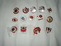 14 STOKE CITY SUPPORTERS CLUB BADGES