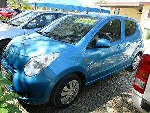 2013 Suzuki Alto Blue 5 Speed Manual Hatchback Bray Park Pine Rivers Area Preview