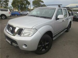 2014 Nissan Navara D40 S7 ST Silver Lightning 6 Speed Manual Utility Cardiff Lake Macquarie Area Preview