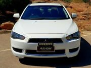 2012 Mitsubishi Lancer CJ MY13 LX White 5 Speed Manual Sedan Littlehampton Mount Barker Area Preview