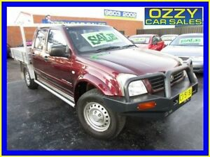 2003 Holden Rodeo RA LX (4x4) Maroon 5 Speed Manual Spacecab Minto Campbelltown Area Preview
