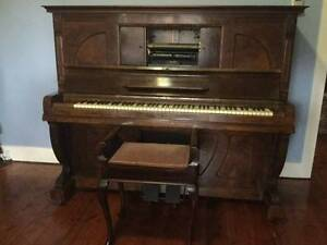 Antique early 1900's Pianola made by world renowed Germany compan Northbridge Willoughby Area Preview