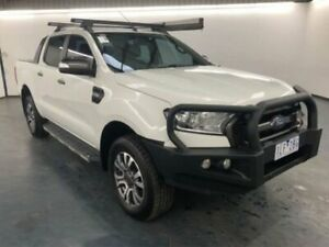 2016 Ford Ranger PX MKII WILDTRAK DOUBLE CAB Cool White Sports Automatic Dual Cab Utility Sunshine North Brimbank Area Preview