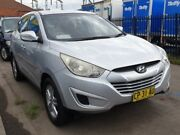 2011 Hyundai ix35 LM MY11 Active (FWD) Silver 6 Speed Automatic Wagon Granville Parramatta Area Preview