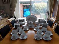 "Dinner and tea service Nori Taki ""Rose"" bargain £30.00 (12 piece settings plus additional items)"