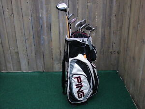 Men's Right hand Golf sets of Ping & set of Wilson