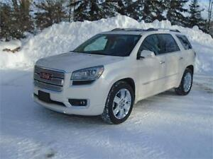 2014 GMC Acadia Denali AWD - White Diamond