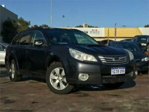 2010 Subaru Outback MY10 2.0D Premium Grey 6 Speed Manual Wagon East Victoria Park Victoria Park Area Preview