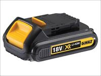 Dewalt XR 18v 1.3ah batteries