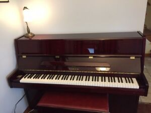 Beautiful Samick Upright Piano