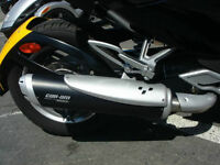 Exhaust Hindle pour spyder bombardier