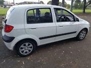 2008 Hyundai Getz TB Upgrade S White 5 Speed Manual Hatchback Holroyd Parramatta Area Preview