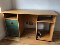 Desk -Rickety and a bit beaten up but free to a good home