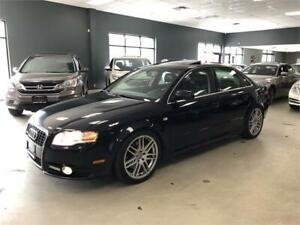 2008 Audi A4 2.0T*6-SPEED MANUAL*S-LINE PKG*CERTIFIED*