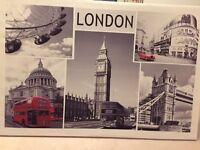 Large London Canvas Photo