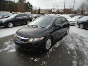 2010 Honda Civic 106KM(LOW) CERTIFIED-WARRANTY