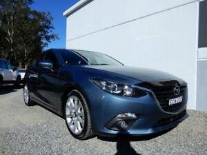 2016 Mazda 3 BM5438 SP25 SKYACTIV-Drive Blue 6 Speed Sports Automatic Hatchback Glendale Lake Macquarie Area Preview