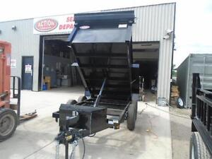 3.5 ton dump -GREAT FOR CITY JOBS AND TOWS EASILY 60'' X 10' BED London Ontario image 3