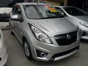 2015 Holden Barina Spark MJ MY15 MJ CD Hatchback 5dr Auto 4sp 1.2i [MY15] Silver 4 Speed Automatic Minchinbury Blacktown Area Preview