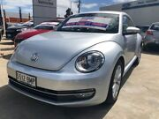 2013 Volkswagen Beetle 1L MY14 Coupe DSG Silver 7 Speed Sports Automatic Dual Clutch Liftback Hendon Charles Sturt Area Preview