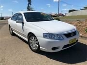 2007 Ford Falcon BF Mk II Futura White Sports Automatic Sedan Kurri Kurri Cessnock Area Preview